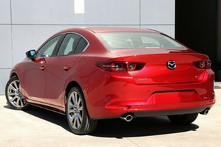 2020 Mazda 3 BP2SLA G25 SKYACTIV-Drive Astina Soul Red Crystal 6 Speed Sports Automatic Sedan.