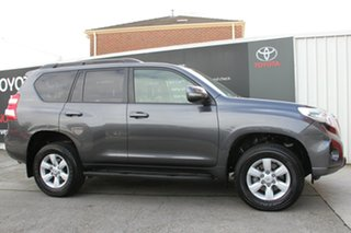 2016 Toyota Landcruiser Prado GDJ150R GXL Graphite 6 Speed Sports Automatic Wagon
