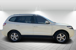 2007 Hyundai Santa Fe CM MY07 SLX White 5 Speed Sports Automatic Wagon.