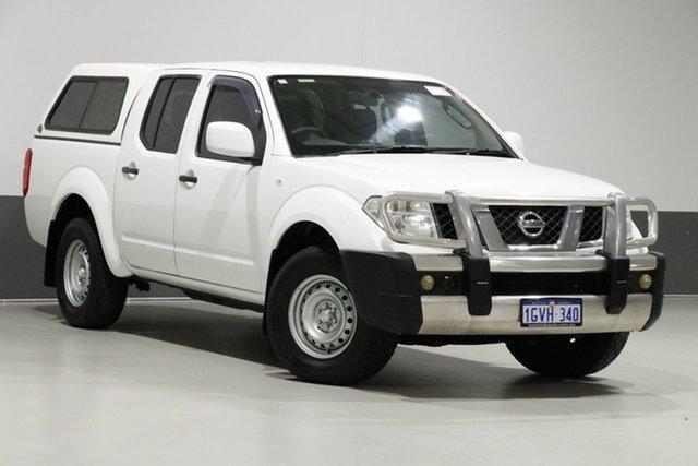 Used Nissan Navara D40 MY13 RX (4x4), 2013 Nissan Navara D40 MY13 RX (4x4) White 5 Speed Automatic Dual Cab Pick-up