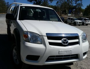 2011 Mazda BT-50 UNY0E4 DX+ Freestyle White 5 Speed Manual Cab Chassis