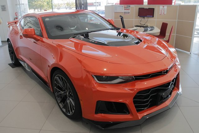 New Chevrolet Camaro MY19 ZL1, 2019 Chevrolet Camaro MY19 ZL1 Crush 6 Speed Manual Coupe