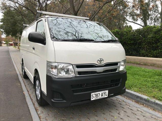 Used Toyota HiAce TRH201R MY12 LWB, 2013 Toyota HiAce TRH201R MY12 LWB White 5 Speed Manual Van