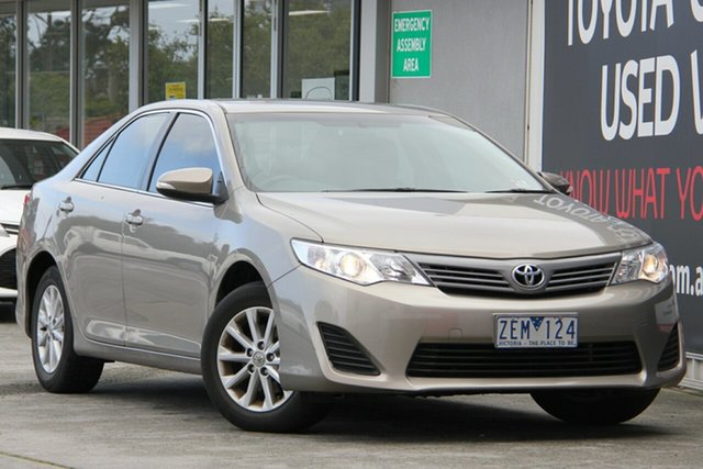 Used Toyota Camry ASV50R Altise, 2012 Toyota Camry ASV50R Altise Magnetic Bronze 6 Speed Sports Automatic Sedan