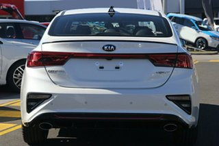 2021 Kia Cerato BD MY21 GT DCT Snow White Pearl 7 Speed Sports Automatic Dual Clutch Sedan