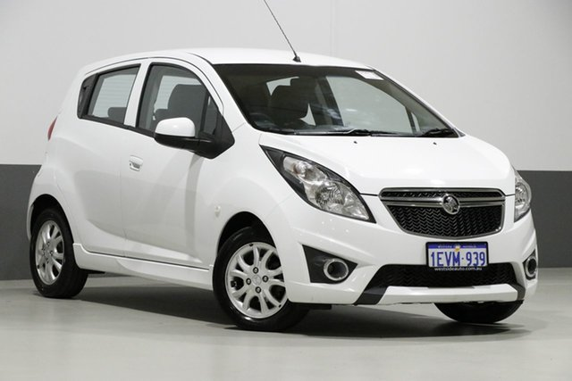 Used Holden Barina Spark MJ MY15 CD, 2015 Holden Barina Spark MJ MY15 CD White 4 Speed Automatic Hatchback
