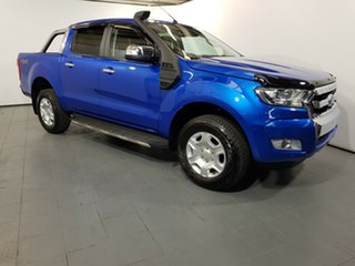2017 Ford Ranger PX MkII XLT Double Cab Winning Blue 6 Speed Manual Utility