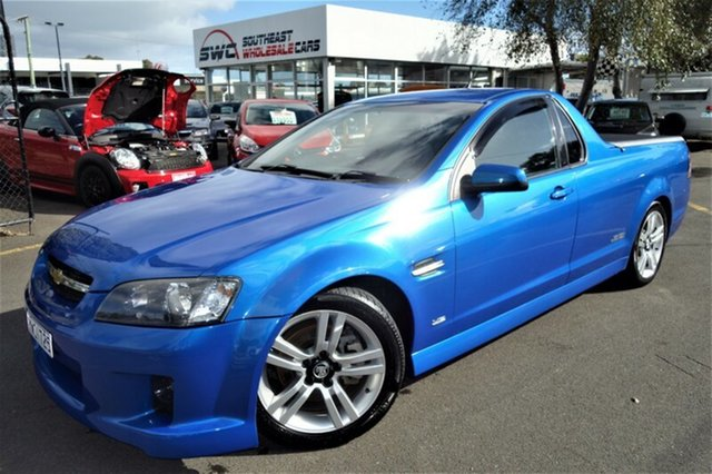 Used Holden Ute VE MY09.5 SS, 2009 Holden Ute VE MY09.5 SS Blue 6 Speed Manual Utility