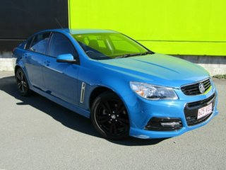 2014 Holden Commodore VF MY15 SV6 Blue 6 Speed Automatic Sedan.