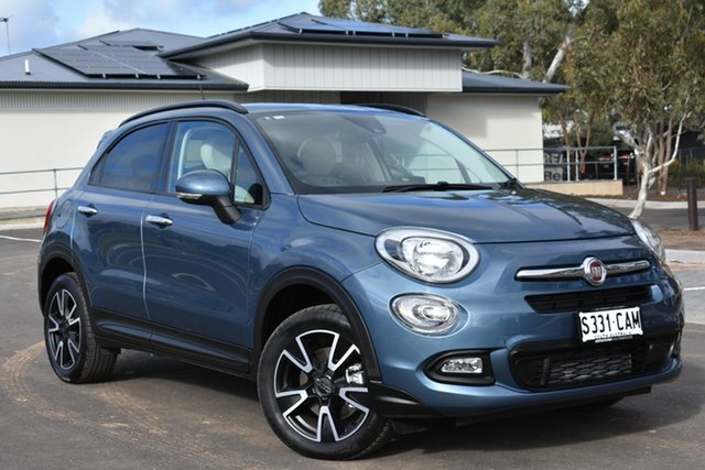Used Fiat 500X 334 Pop DDCT, 2018 Fiat 500X 334 Pop DDCT Blue 6 Speed Sports Automatic Dual Clutch Wagon
