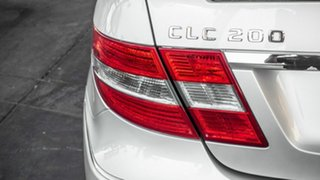 2009 Mercedes-Benz CLC-Class CL203 CLC200 Kompressor Evolution Silver 5 Speed Automatic Coupe