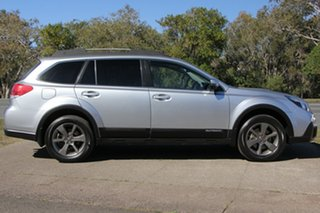 2013 Subaru Outback B5A MY13 2.0D Lineartronic AWD Premium Silver 7 Speed Constant Variable Wagon.
