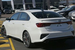 2021 Kia Cerato BD MY21 GT DCT Snow White Pearl 7 Speed Sports Automatic Dual Clutch Sedan.