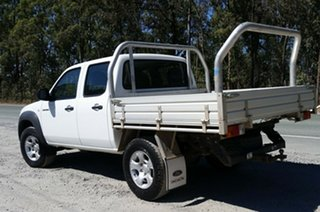2011 Mazda BT-50 UNY0E4 DX+ Freestyle White 5 Speed Manual Cab Chassis.