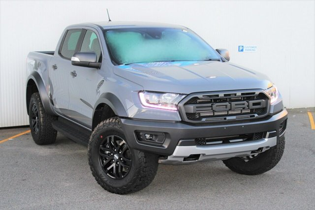New Ford Ranger PX MkIII 2019.75MY Raptor Pick-up Double Cab, 2019 Ford Ranger PX MkIII 2019.75MY Raptor Pick-up Double Cab Conquer Grey 10 Speed Sports Automatic