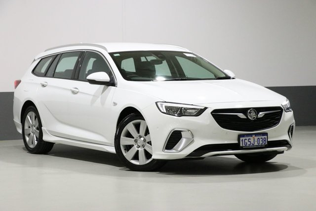 Used Holden Commodore ZB RS (5Yr), 2018 Holden Commodore ZB RS (5Yr) White 9 Speed Automatic Sportswagon
