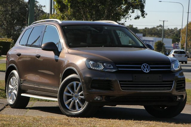 Used Volkswagen Touareg 7P MY13 V6 TDI Tiptronic 4MOTION, 2013 Volkswagen Touareg 7P MY13 V6 TDI Tiptronic 4MOTION Brown 8 Speed Sports Automatic Wagon