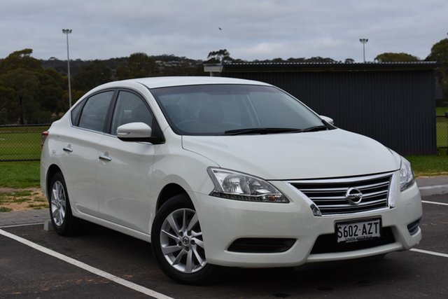 Used Nissan Pulsar B17 ST, 2013 Nissan Pulsar B17 ST White 1 Speed Constant Variable Sedan
