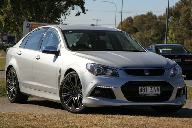 Used Holden Special Vehicles Senator Gen-F MY14 Signature, 2014 Holden Special Vehicles Senator Gen-F MY14 Signature Silver 6 Speed Sports Automatic Sedan