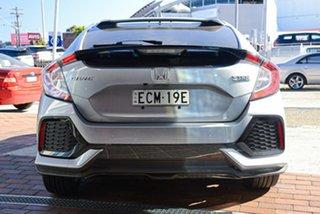 2018 Honda Civic 10th Gen MY18 VTi-L Lunar Silver 1 Speed Constant Variable Hatchback