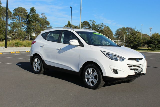 Used Hyundai ix35 LM3 MY15 Active, 2015 Hyundai ix35 LM3 MY15 Active Pure White 6 Speed Sports Automatic Wagon