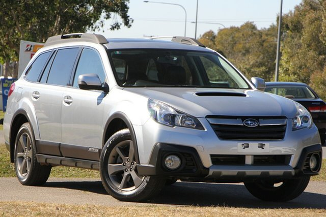 Used Subaru Outback B5A MY13 2.0D Lineartronic AWD Premium, 2013 Subaru Outback B5A MY13 2.0D Lineartronic AWD Premium Silver 7 Speed Constant Variable Wagon