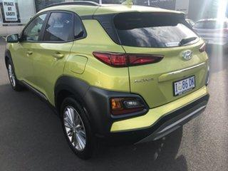 2019 Hyundai Kona OS.2 MY19 Elite 2WD Acid Yellow 6 Speed Sports Automatic Wagon