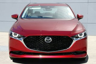 2020 Mazda 3 BP2SLA G25 SKYACTIV-Drive Astina Red 6 Speed Sports Automatic Sedan