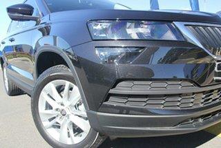 2021 Skoda Karoq NU MY21 110TSI FWD Magic Black 8 Speed Automatic Wagon.