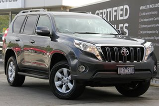 2016 Toyota Landcruiser Prado GDJ150R GXL Graphite 6 Speed Sports Automatic Wagon.