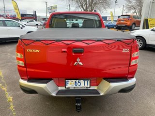 2017 Mitsubishi Triton MQ MY17 GLX Double Cab Red 6 Speed Manual Utility