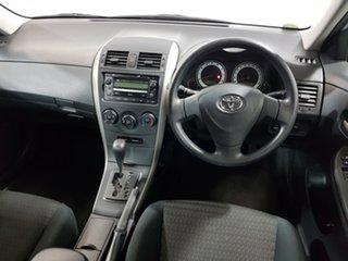 2009 Toyota Corolla ZRE152R Ascent Silver 4 Speed Automatic Sedan.