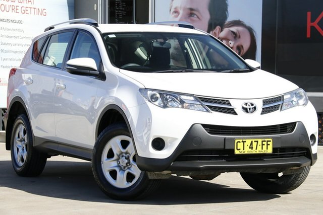 Used Toyota RAV4 ASA44R MY14 Upgrade GX (4x4), 2015 Toyota RAV4 ASA44R MY14 Upgrade GX (4x4) White 6 Speed Automatic Wagon