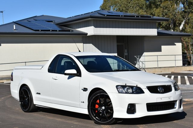 Used Holden Ute VE II MY12 SS V, 2012 Holden Ute VE II MY12 SS V White 6 Speed Sports Automatic Utility
