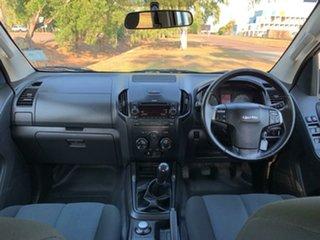 2015 Isuzu D-MAX MY15 SX Crew Cab White 5 Speed Manual Cab Chassis