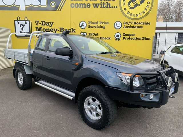 Used Ford Ranger PX XL Super Cab, 2012 Ford Ranger PX XL Super Cab Blue 6 Speed Manual Utility