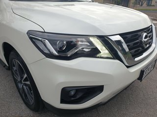 2017 Nissan Pathfinder R52 Series II MY17 Ti X-tronic 4WD White 1 Speed Constant Variable Wagon