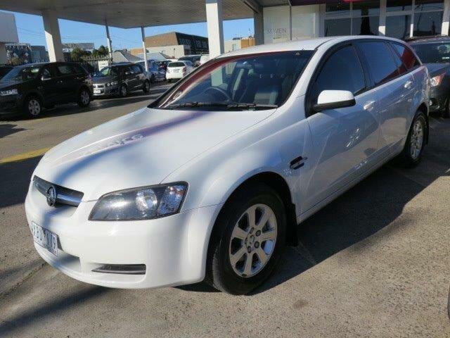 Used Holden Commodore VE MY09.5 Omega Sportwagon, 2009 Holden Commodore VE MY09.5 Omega Sportwagon White 4 Speed Automatic Wagon
