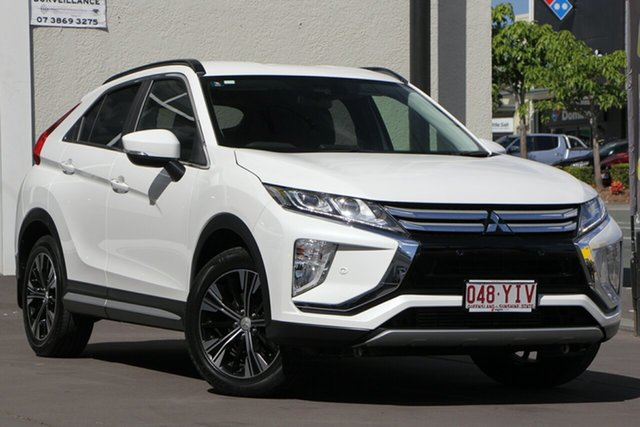 Used Mitsubishi Eclipse Cross YA MY18 LS 2WD, 2018 Mitsubishi Eclipse Cross YA MY18 LS 2WD White 8 Speed Constant Variable Wagon