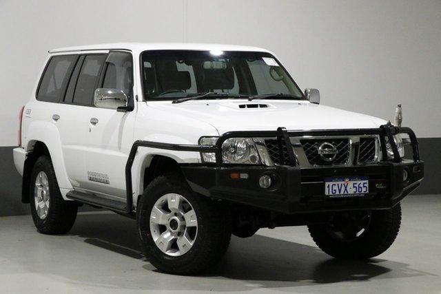 Used Nissan Patrol GU Series 9 ST (4x4), 2014 Nissan Patrol GU Series 9 ST (4x4) White 4 Speed Automatic Wagon