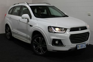 2016 Holden Captiva CG MY17 LTZ AWD Summit White 6 Speed Sports Automatic Wagon.