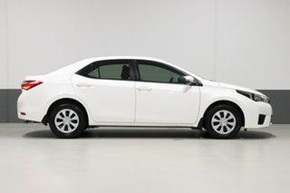 2014 Toyota Corolla ZRE172R Ascent White 7 Speed CVT Auto Sequential Sedan