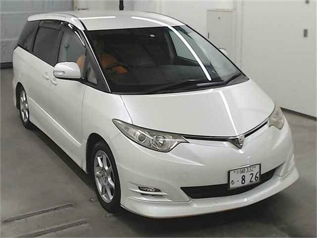 Used Toyota Estima  , 2006 Toyota Estima GSR50W Aeras G White Automatic Wagon