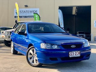 2004 Ford Falcon BA Mk II SR Blue 4 Speed Sports Automatic Sedan