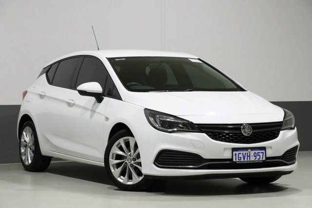Used Holden Astra BK MY18 R, 2018 Holden Astra BK MY18 R White 6 Speed Manual Hatchback