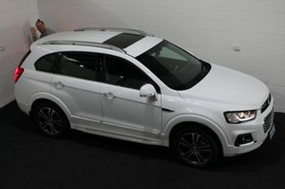 2016 Holden Captiva CG MY17 LTZ AWD Summit White 6 Speed Sports Automatic Wagon.