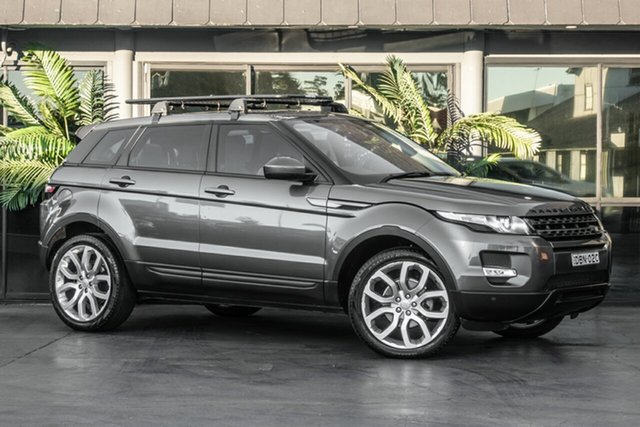 Used Land Rover Range Rover Evoque L538 MY16 TD4 180 HSE, 2015 Land Rover Range Rover Evoque L538 MY16 TD4 180 HSE Grey 9 Speed Sports Automatic Wagon
