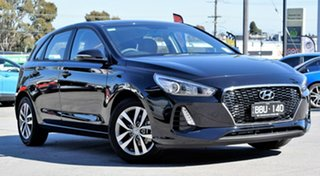 2018 Hyundai i30 PD2 MY18 Active Phantom Black 6 Speed Sports Automatic Hatchback