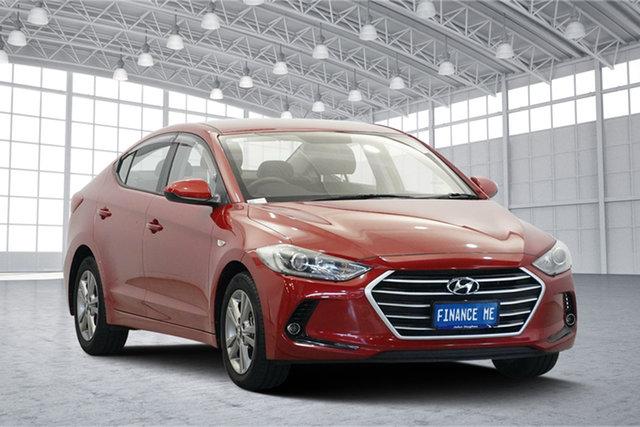 Used Hyundai Elantra AD MY17 Active, 2017 Hyundai Elantra AD MY17 Active Fiery Red 6 Speed Sports Automatic Sedan