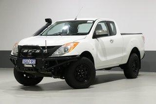 2014 Mazda BT-50 MY13 XTR (4x4) White 6 Speed Automatic Freestyle Utility.